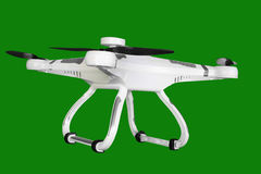 Drone. Model isolated for modeling hobby Royalty Free Stock Photos