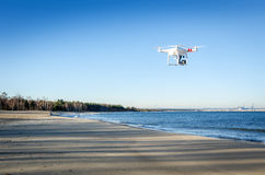 Drone in move Stock Images