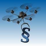 Drone Paragraph Sign Stock Photo