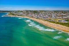 Drone Photo of Dixon Park Beach to Mewewether Beach,  Newcastle NSW Australia