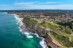 Drone Photo of King Edward Park  Newcastle NSW Australia
