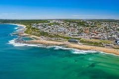 Drone Photo of Mewewether Beach,  Newcastle NSW Australia