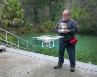 Drone Pilot - Pitt Springs Florida Royalty Free Stock Photos