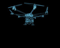 Drone plane uav Royalty Free Stock Images