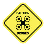 Drone-Plates Royalty Free Stock Photography