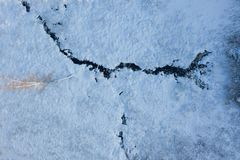 Drone point of view of frozen river among snow. Aerial winter landscape. Aerial winter. Aerial Snow texture. Beautiful snowy royalty free stock image