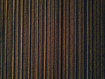Drone pov cultivated corn maize crop field top view. Drone pov aerial view of cultivated corn maize crop field top view as abstract agricultural background royalty free stock image