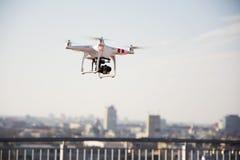 Drone prepared for flight Stock Photo