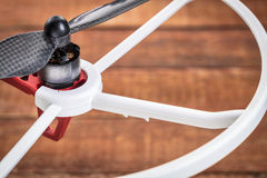 Drone propeller abstract Royalty Free Stock Image