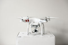 Drone quadrocopter Dji Phantom 3 Advanced Royalty Free Stock Photo