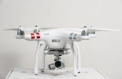 Drone quadrocopter Dji Phantom 3 Advanced Royalty Free Stock Photography