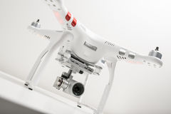 Drone quadrocopter Dji Phantom 3 Advanced Stock Photography