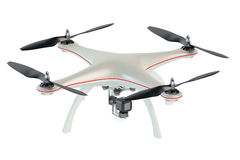Drone quadrocopter Royalty Free Stock Image