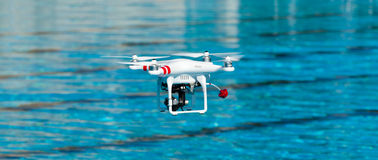 Drone quadrocopter Royalty Free Stock Photo