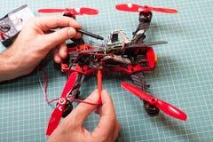Drone racer building Stock Photos