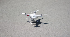 Drone ready to fly Royalty Free Stock Photography
