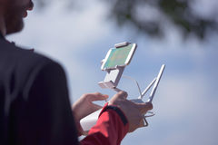 Drone remote control Stock Photography
