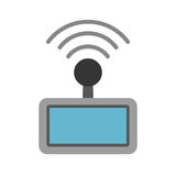 Drone remote control icon Stock Photography
