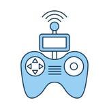 Drone remote control icon Stock Photos