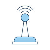 Drone remote control icon Royalty Free Stock Photos