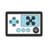 Drone remote control icon Royalty Free Stock Images