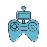 Drone remote control icon Stock Images