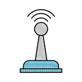 Drone remote control icon Stock Photo