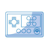 Drone remote control icon Royalty Free Stock Photography