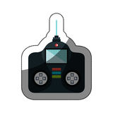 Drone remote control isolated icon Royalty Free Stock Photography
