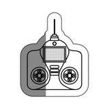 Drone remote control isolated icon Stock Photo