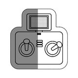 Drone remote control isolated icon Stock Photography