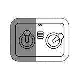 Drone remote control isolated icon Royalty Free Stock Image