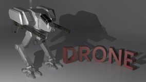 Drone Robot Royalty Free Stock Photo