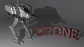 Drone Robot vector illustration