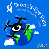 Drone`s eye view Stock Photo