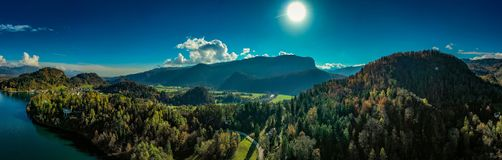 A Small Part of Lake Bled. royalty free stock photos