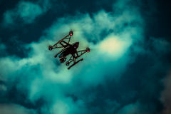 Drone in sky Stock Photos