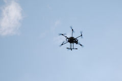 Drone in the sky Royalty Free Stock Photography