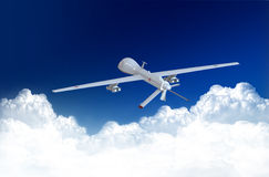 Drone and in the sky stock photos