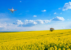 Drone in the sky Royalty Free Stock Image
