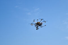 Drone in the sky Stock Photos