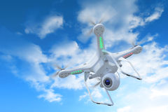 Drone in sky Royalty Free Stock Photography