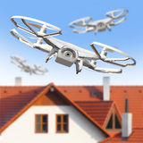 The Drone. royalty free stock image
