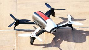 Drone stationary ready start. Drone stationary ready to start stock footage