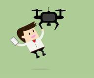 Drone take a pokemon Stock Photography