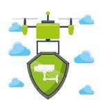 Drone technology design Royalty Free Stock Photos