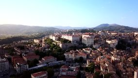 Aerial view of Perugia Tuscany Italy. Drone video footage - Aerial view of Perugia Tuscany Italy stock video