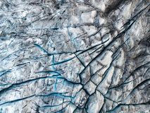 Drone view of the Fjallsarlon iceberg glacier lagoon in Iceland. Vatnajokull glacier aerial dramatic winter scene. Drone view of the Fjallsarlon iceberg glacier stock images