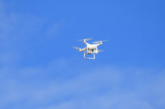Drones on the blue sky Stock Photo