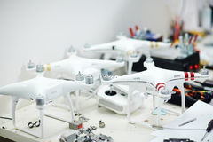 Drones Ready to Take Off Stock Photo